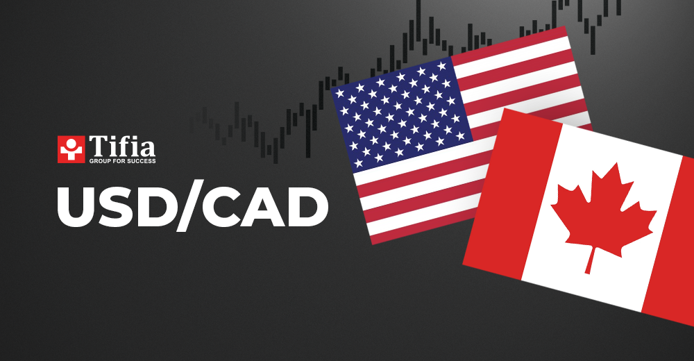 USD/CAD analysis for today.