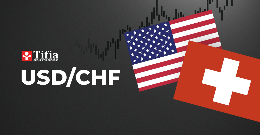 USD/CHF analysis for today.
